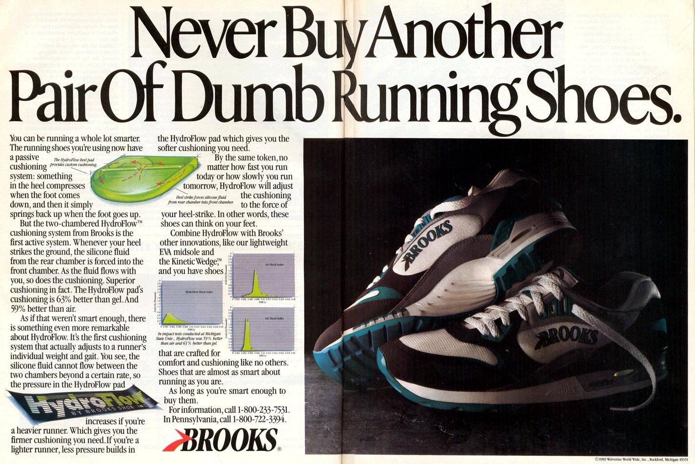 1db5053c99db0 Brooks Hydroflow Circa 1989