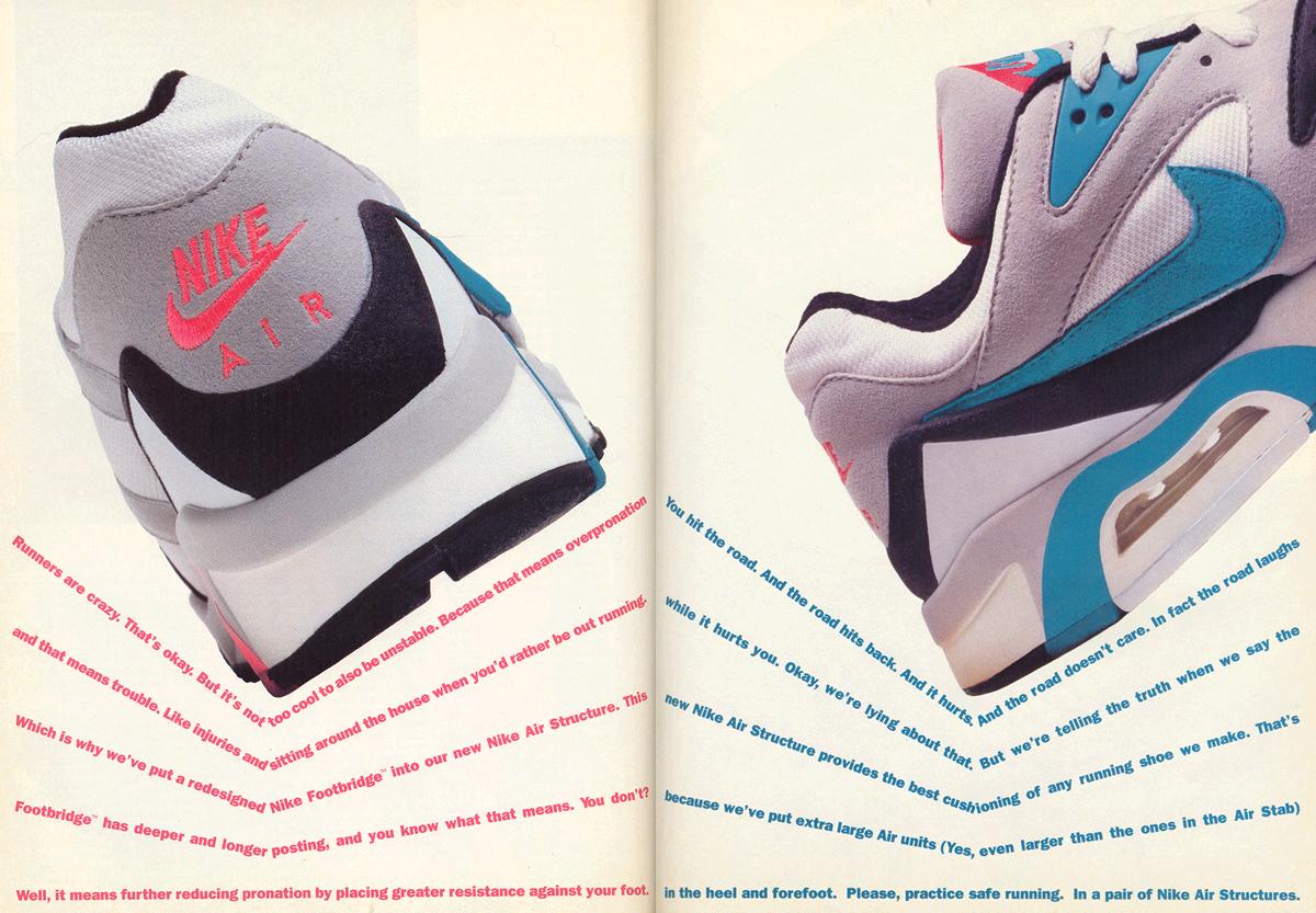 new styles 084c1 e4d95 Nike Air Structure Circa 1991