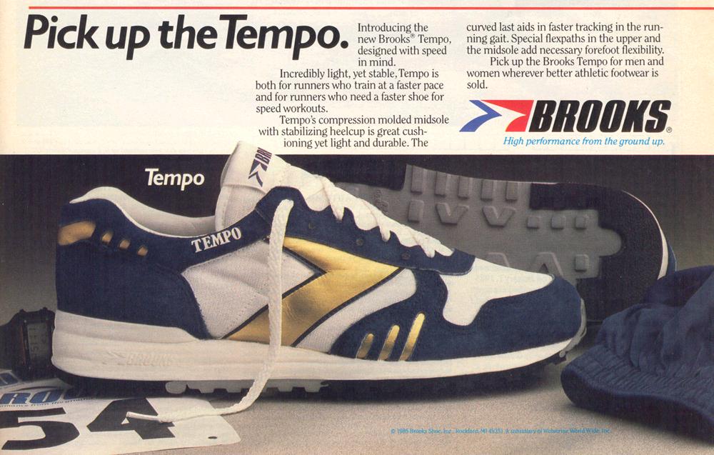 de1a0d0c9cd28 Brooks Tempo Circa July 1985