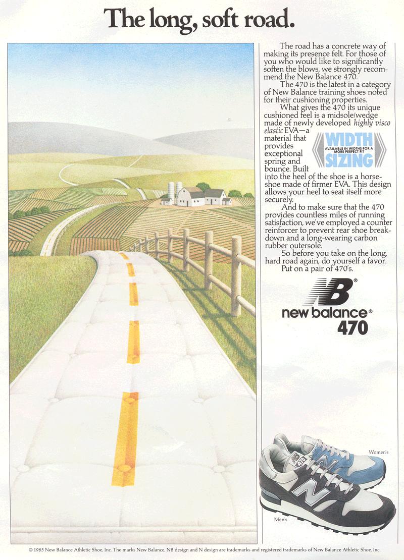 New Balance 470 Circa October 1985