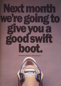 Saucony Advance Circa September 1984