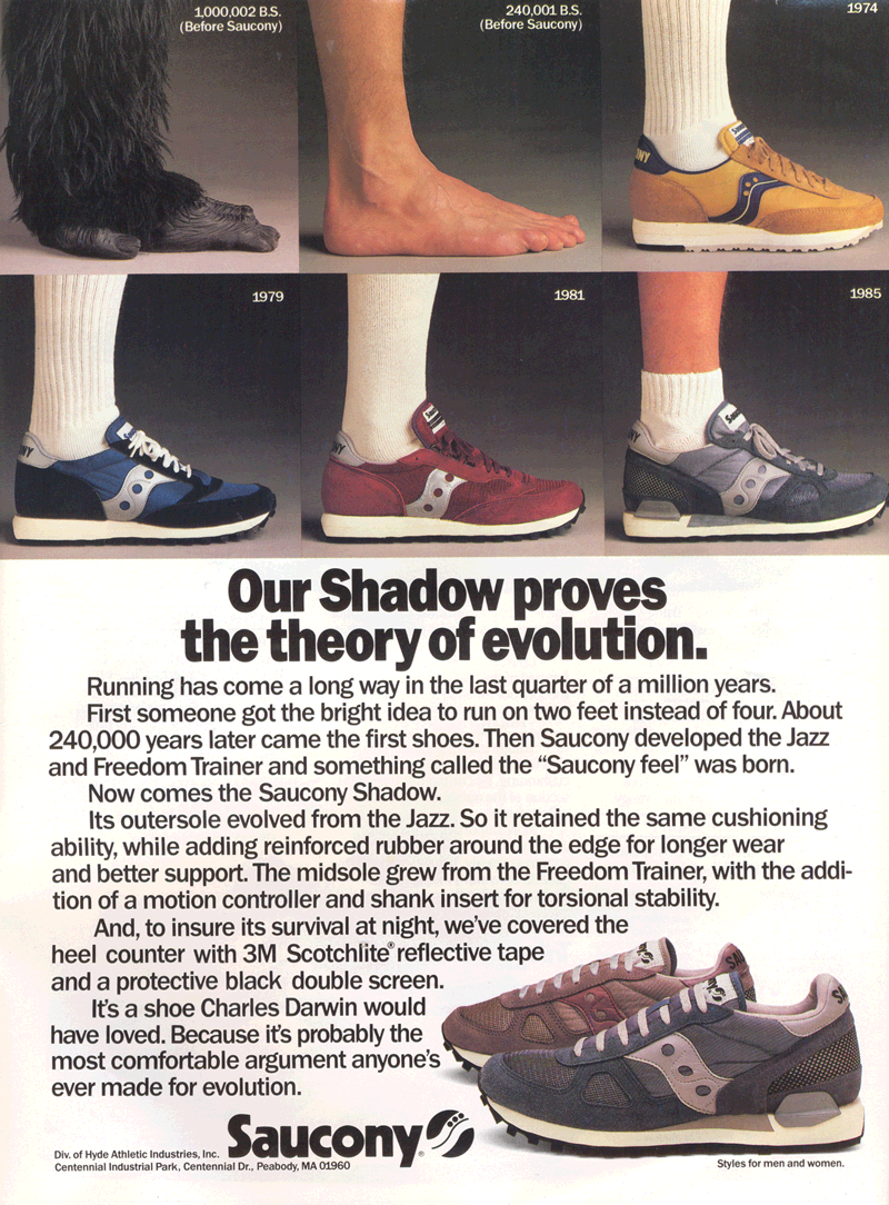 hot sale online d9a9a 36296 Retro Advertisements | The Runner's Shop | Page 2